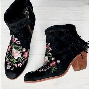 5cf688cf2ccb60 Women s Sam Edelman Embroidered Boots on Poshmark